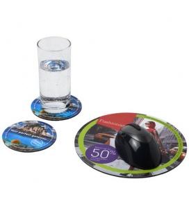 Q-Mat® mouse mat and coaster set combo 5Q-Mat® mouse mat and coaster set combo 5 Q-Mat™