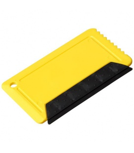 Freeze credit card sized ice scraper with rubberFreeze credit card sized ice scraper with rubber PF Manufactured