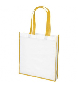 Contrast large non-woven shopping tote bagContrast large non-woven shopping tote bag Bullet