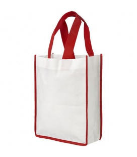 Contrast small non-woven shopping tote bagContrast small non-woven shopping tote bag Bullet