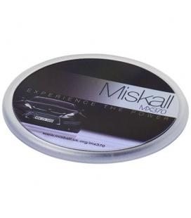 Ellison round plastic coaster with paper insertEllison round plastic coaster with paper insert PF Manufactured