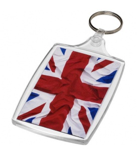 Baiji L6 large keychain with plastic clipBaiji L6 large keychain with plastic clip PF Manufactured