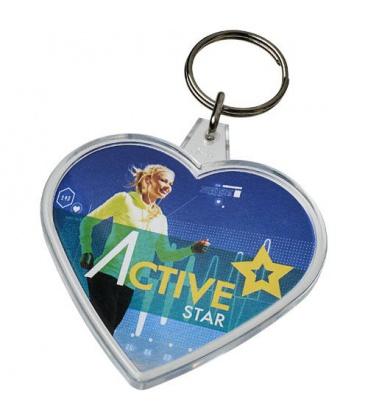 Combo heart-shaped keychainCombo heart-shaped keychain PF Manufactured