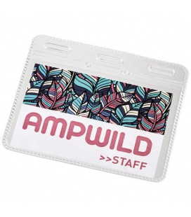 Arell clear plastic ID pouchArell clear plastic ID pouch PF Manufactured