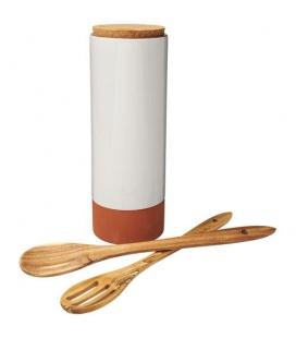 Terracotta pasta holder with spoonsTerracotta pasta holder with spoons Jamie Oliver