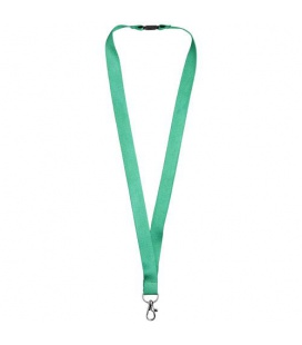 Julian bamboo lanyard with safety clipJulian bamboo lanyard with safety clip Bullet