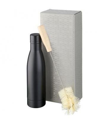 Vasa copper vacuum insulated bottle with brush setVasa copper vacuum insulated bottle with brush set Avenue