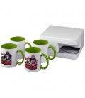 Ceramic sublimation mug 4-pieces gift setCeramic sublimation mug 4-pieces gift set Bullet