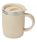 Wey 400 ml wheat straw insulated mugWey 400 ml wheat straw insulated mug Bullet
