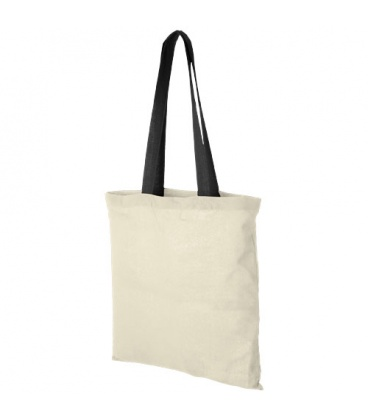 Nevada 100 g/m2 coloured handles cotton tote bagNevada 100 g/m2 coloured handles cotton tote bag Bullet