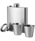 Texas 175 ml hip flask with two shot tumblersTexas 175 ml hip flask with two shot tumblers Bullet