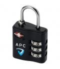 Kingsford TSA-compliant luggage lockKingsford TSA-compliant luggage lock Bullet