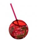 Fiesta 580 ml beverage ball with strawFiesta 580 ml beverage ball with straw Bullet